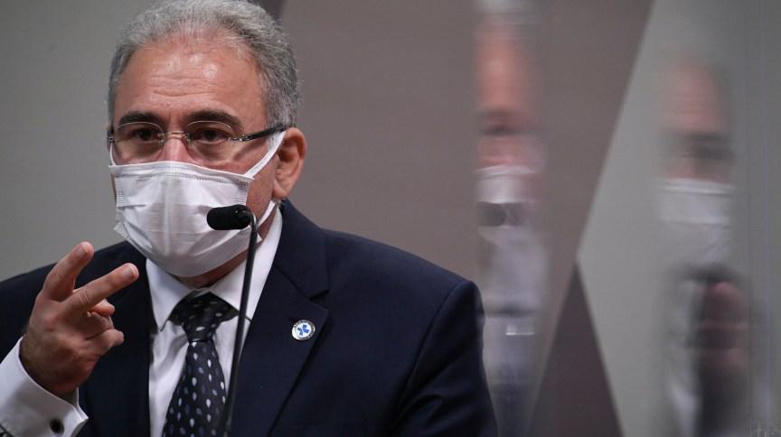 Marcelo Queiroga já prestou dois depoimentos à CPI da Pandemia