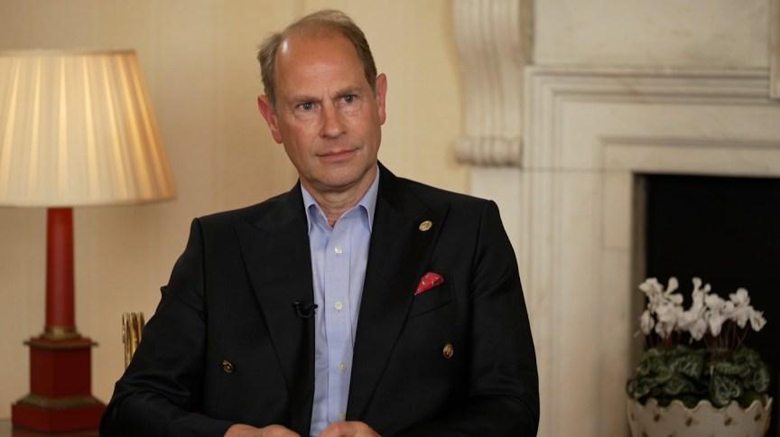 Príncipe Edward, filho mais novo da Rainha Elizabeth e Príncipe Philip, em entrevista exclusiva à CNN
