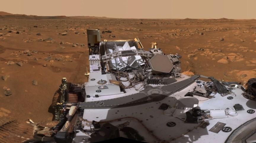 Sonda Perseverance pousou em Marte em 18 de fevereiro