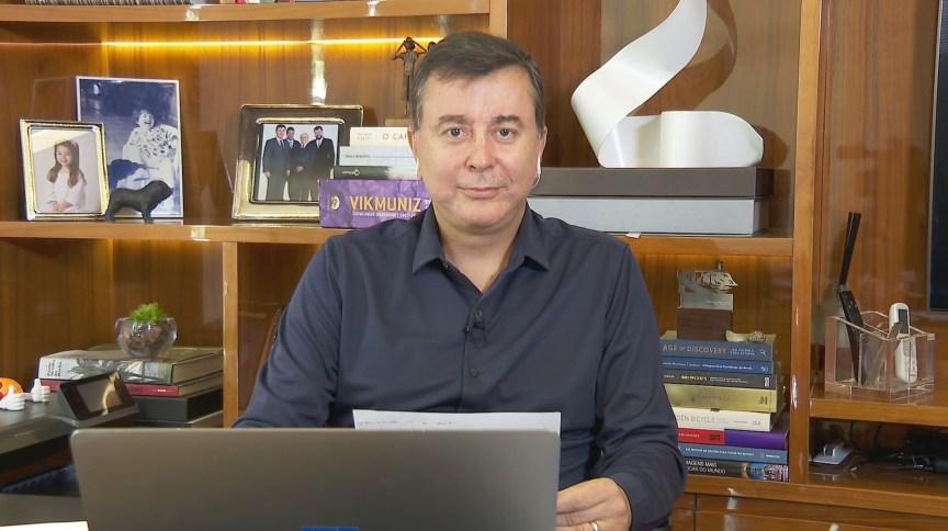 Fabio Coelho, presidente do Google Brasil, é o entrevistado do CNN Nosso Mundo desta sexta-feira