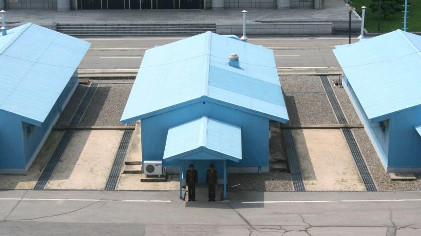 Zona Desmilitarizada, região fronteiriça que separa a Coreia do Sul e a Coreia do Norte.