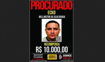 Polícia Civil estava atrás de Wellington da Silva Braga, o Ecko