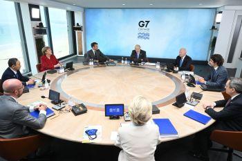 Reunião do grupo de sete das economias mais ricas do mundo aconteceu neste final de semana e foi o primeiro desde o início da pandemia