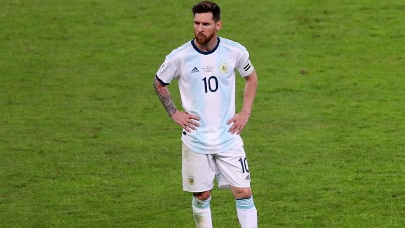 Messi disse que elenco argentino teme contrair Covid-19 durante Copa América