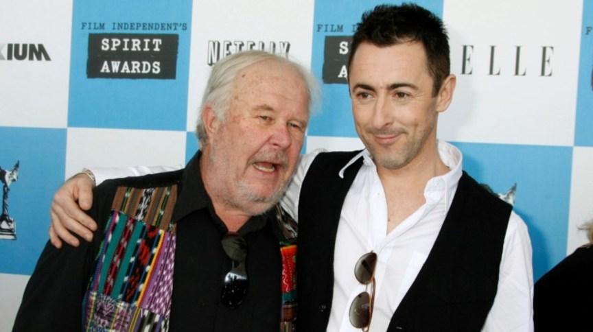 Ator Ned Beatty (esquerda) ao lado de Alan Cuuming em Santa Mônica 24/02/2007 REUTERS/Fred Prouser