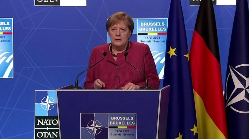 Em sua última cúpula da Otan, Merkel defendeu necessidade de não subestimar nem superestimar a China