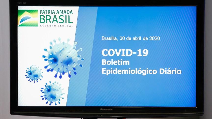 Durante a pandemia do novo coronavírus, o Ministério da Saúde divulga diariamente um boletim epidemiológico, com atualização sobre o panorama da COVID-19 no país