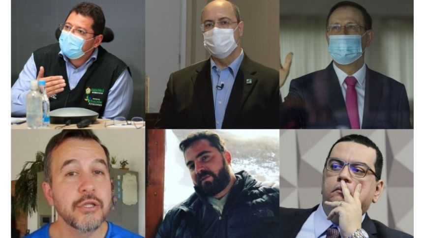 Montagem da semana da CPI da Pandemia