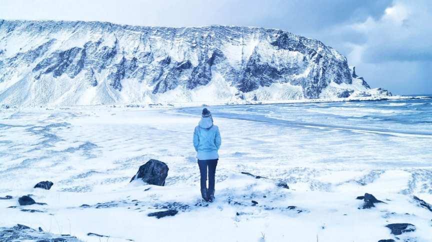 Valentina Miozzo mudou-se para o Ártico durante a pandemia de Covid-19