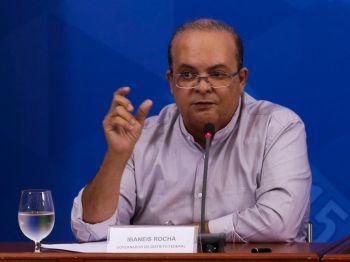 """Em evento nesta segunda-feira (26), o governador do Distrito Federal, Ibaneis Rocha (MDB), disse se tratar de """"mais uma vez de a Justiça tentando governar"""""""