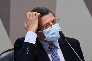 À CPI, ex-ministro relatou a ligação que pedia auxílio logístico, mas disse que só soube da crise do oxigênio três dias mais tarde