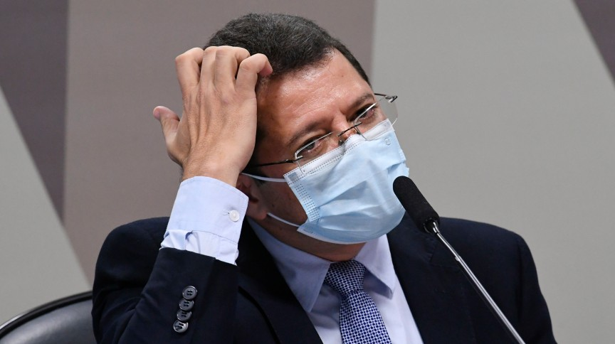 Ex-secretário de Saúde do AM, Marcellus Campêlo depõe à CPI