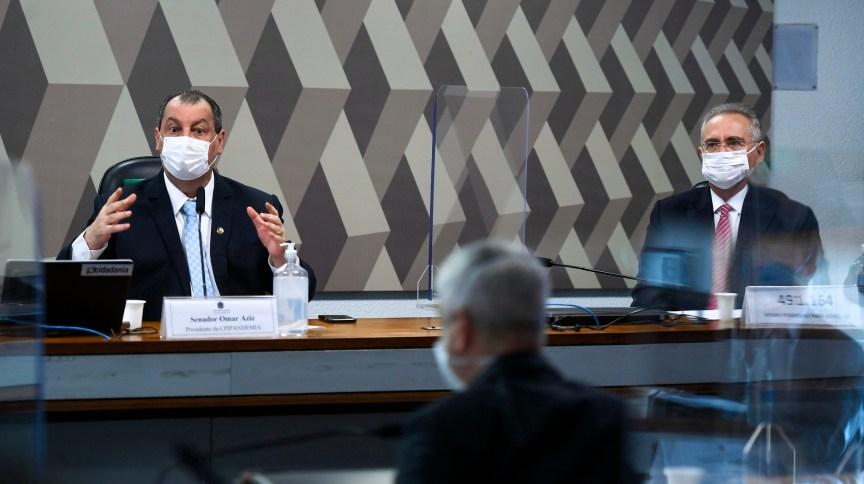 Senadores discutem requerimentos de convocação para a CPI da Pandemia