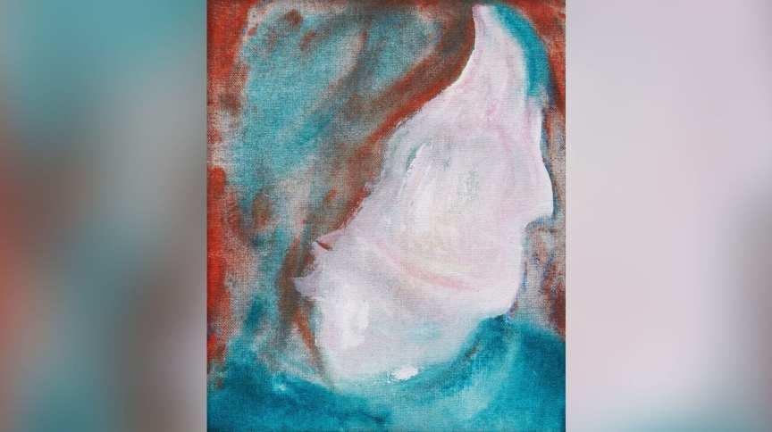 Pintura de David Bowie, da série DHead, que foi comprada em aterro sanitário por 5 dólares canadenses