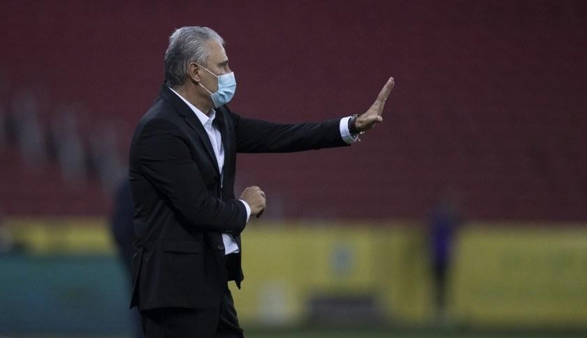 O técnico da Seleção Brasileira, Tite