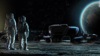 Três carros usados pela Nasa nos anos 70, da última vez que o homem pisou na lua, ainda estão lá, mas ninguém vai tentar fazê-los funcionar de novo
