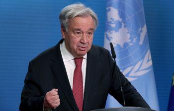 António Guterres, secretário-geral das Nações Unidas, diz que comunidade internacional se reunirá em 13 de setembro para evitar 'iminente catástrofe humanitária'no país