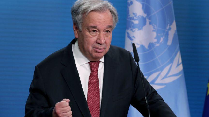 António Guterres convocou conferência internacional para arrecadar fundos para afegãos