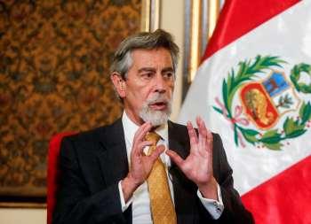Candidato socialista Pedro Castillo venceu o segundo turno das eleições em 6 de junho por uma margem estreita sobre a candidata de direita Keiko Fujimori