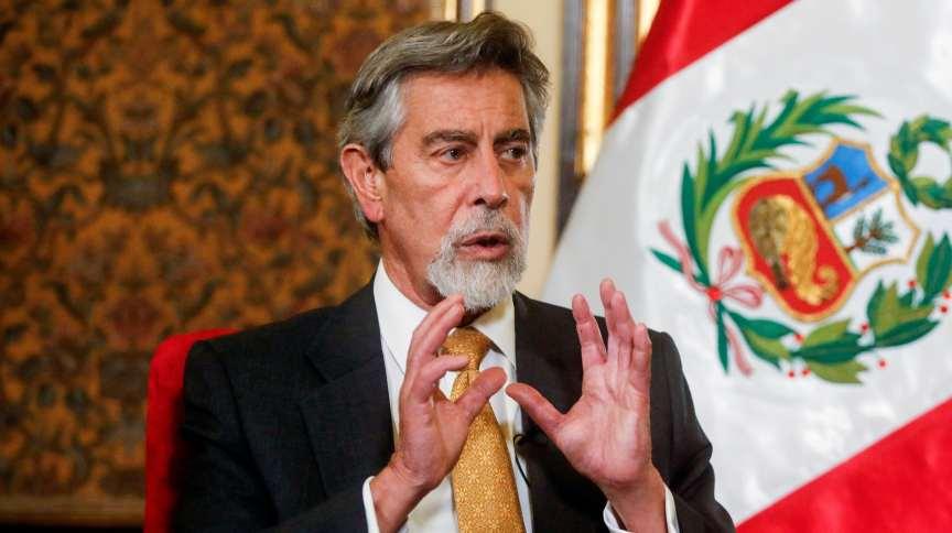 Presidente interino do Peru, Francisco Sagasti