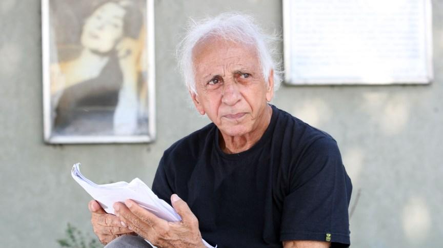 Ator e diretor Flávio Migliaccio na Urca, zona sul do Rio de Janeiro. Ele morreu, aos 85 anos, nesta segunda-feira, 4 de maio de 2020