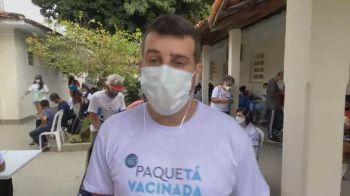 À CNN, secretário de saúde Daniel Soranz falou sobre estudo de vacinação em massa na Ilha de Paquetá, que receberá 1ª dose até este domingo (20)
