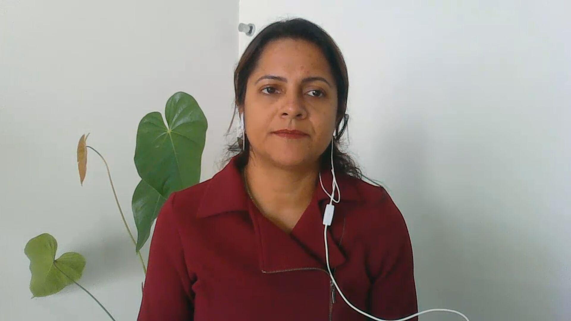 Cristiane Pantaleão, vice-presidente Conasems