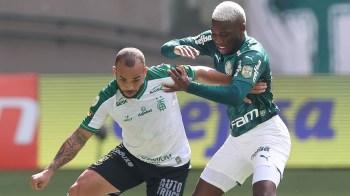 Clube informou que volante recebeu tratamento igual ao meio-campista Lucas Lima, afastado na sexta-feira (18) pelo mesmo motivo; não há previsão de volta