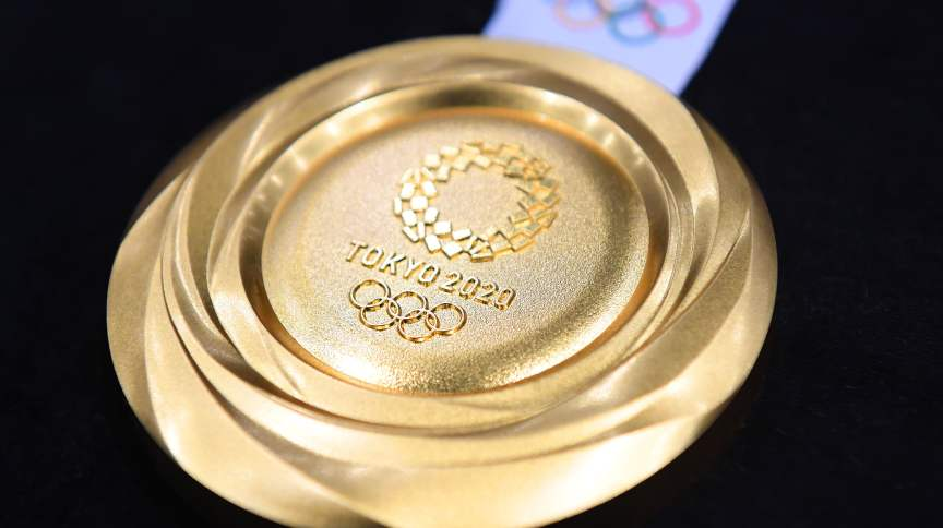 Medalha de ouro da Olimpíada de Tóquio 2020