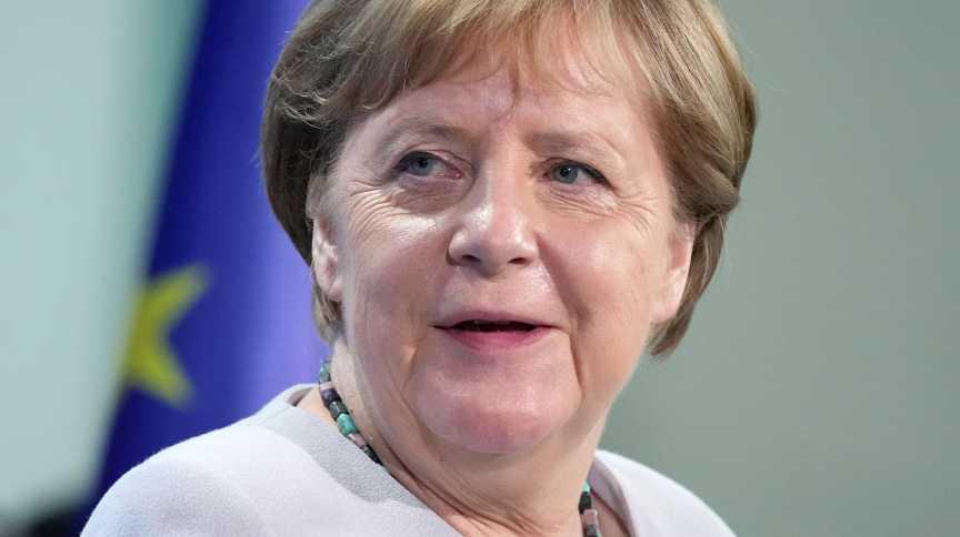 Chanceler da Alemanha, Angela Merkel, em Berlim