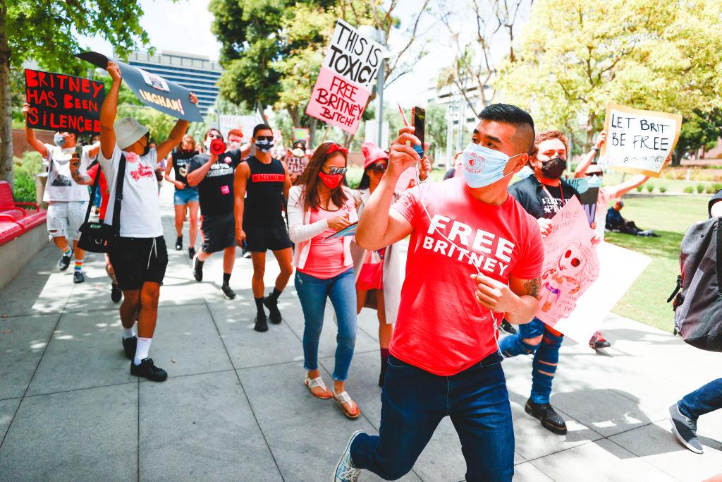 Protesto do movimento Free Britney