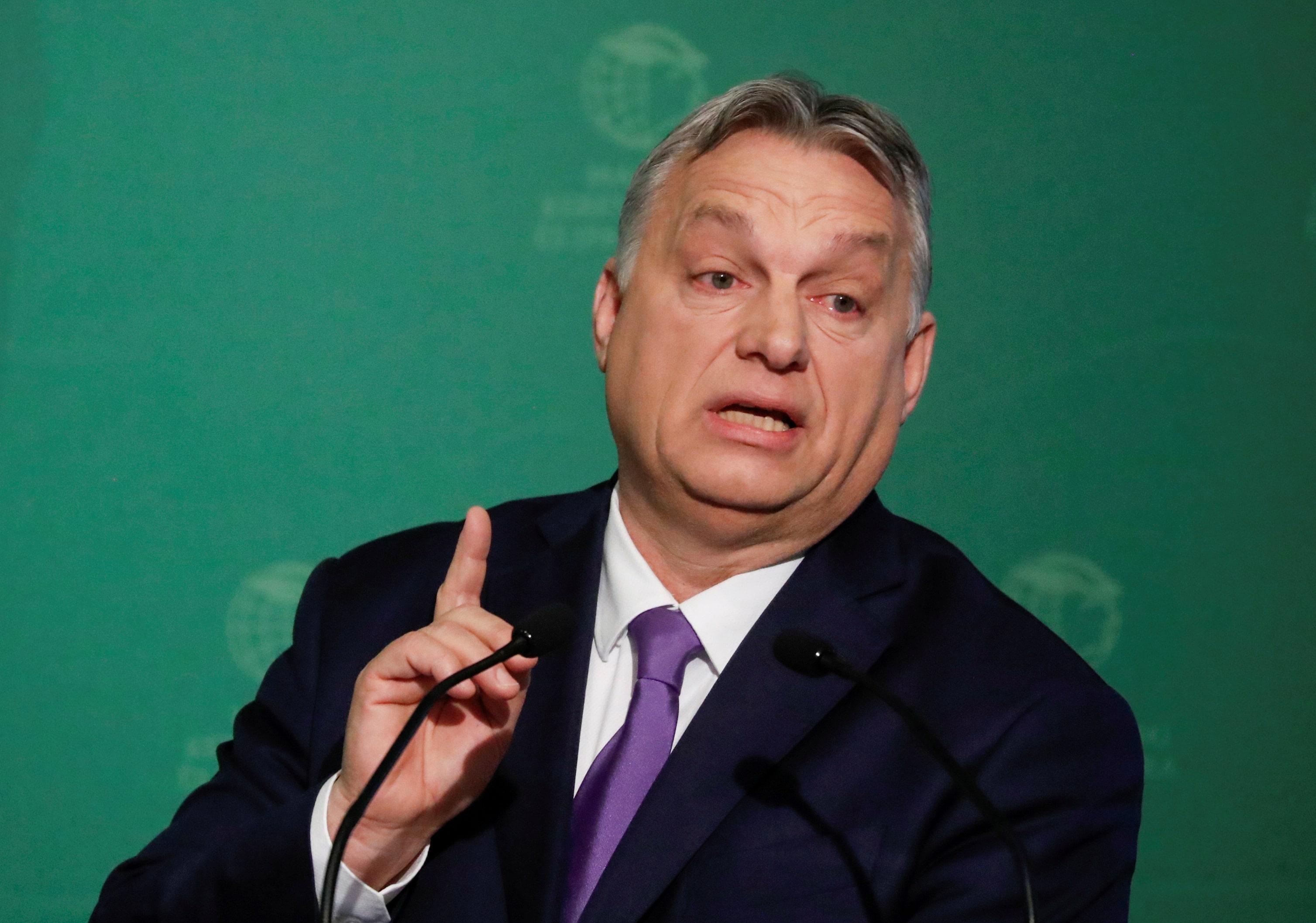 O premiê da Hungria, Viktor Orbán