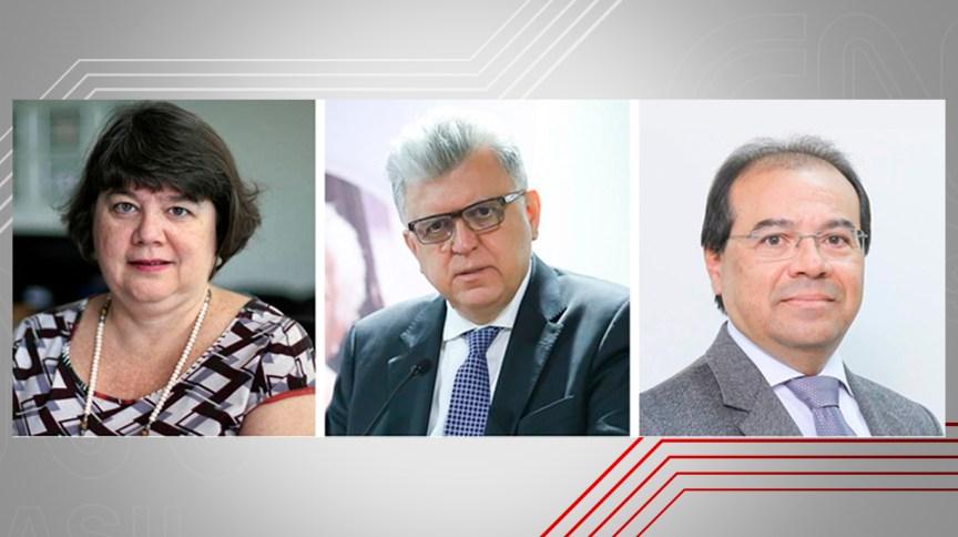 Subprocuradores-gerais da República Luiza Frischeisen , Mario Bonsaglia e Nicolao Dino