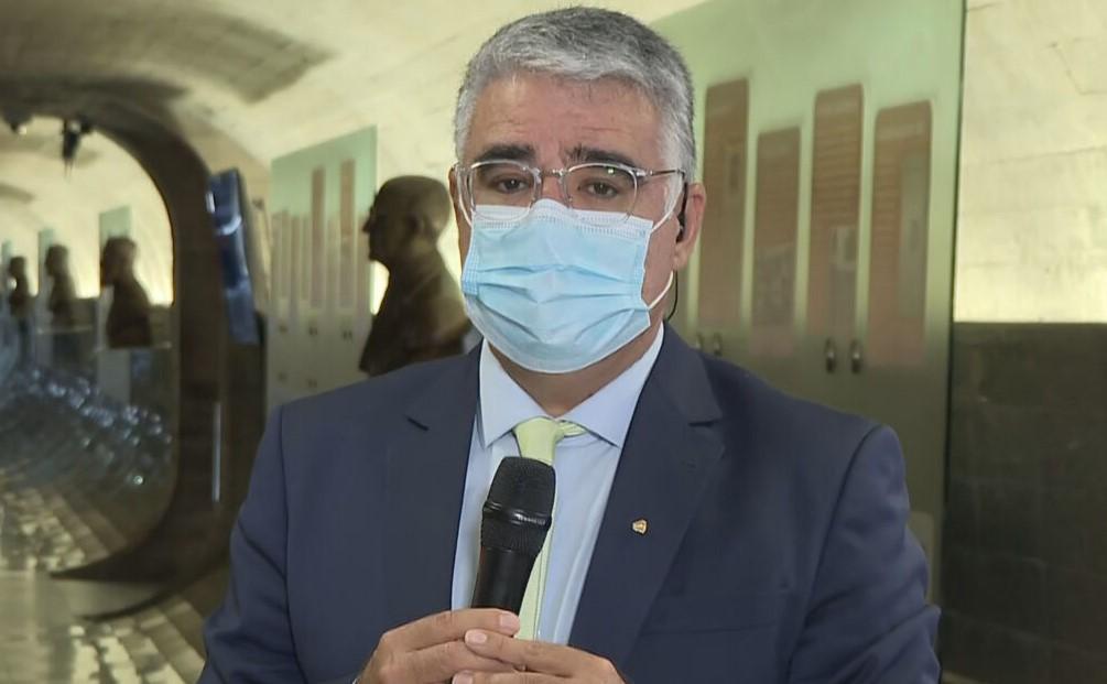 Senador Eduardo Girão (Podemos-CE), titular da CPI da Pandemia
