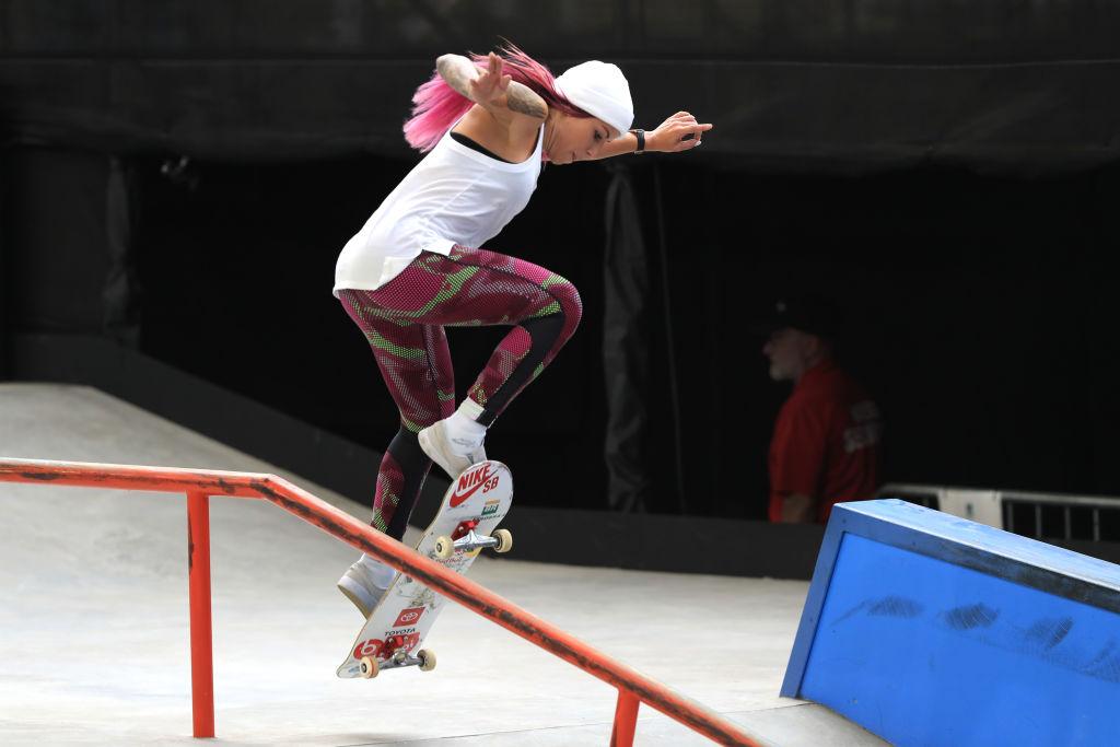 A brasileira Leticia Bufoni é um dos maiores nomes do skate da atualidade. A atl