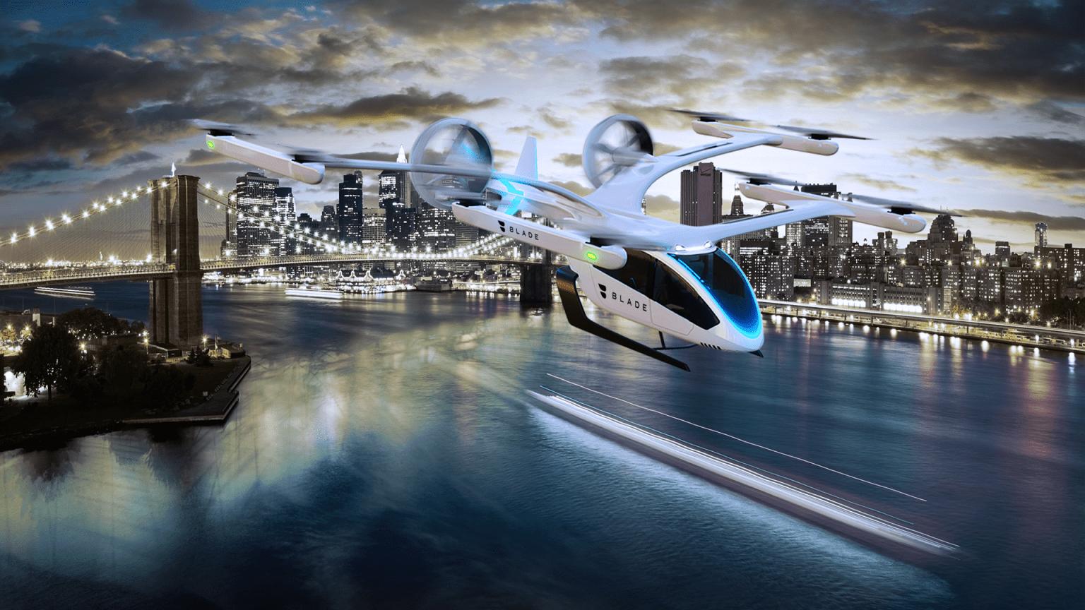Veículo elétrico de decolagem vertical da Eve, empresa da Embraer