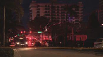 Uma morte já foi confirmada no desmoronamento do prédio localizado na comunidade litorânea de Surfside