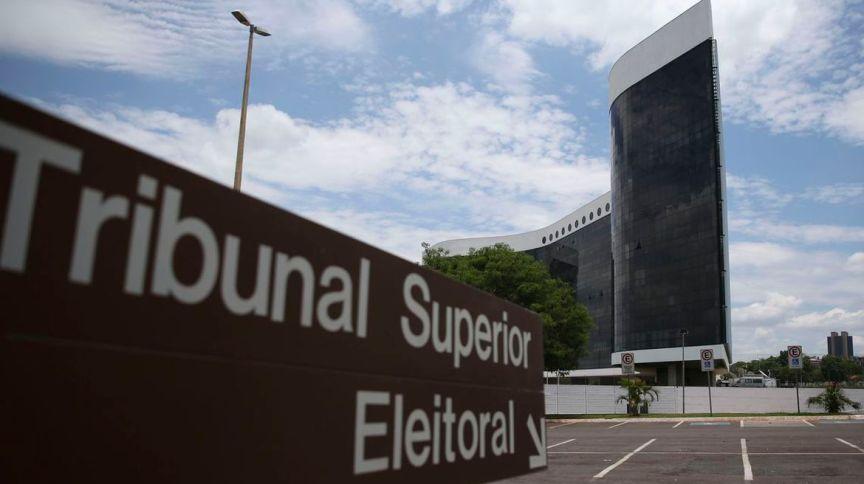 O edifício-sede do TSE (Tribunal Superior Eleitoral) em Brasília