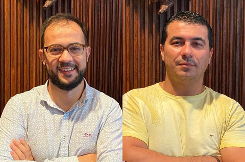 Funcionário público Luis Ricardo Miranda (E) e o deputado Luis Miranda (DEM-DF)