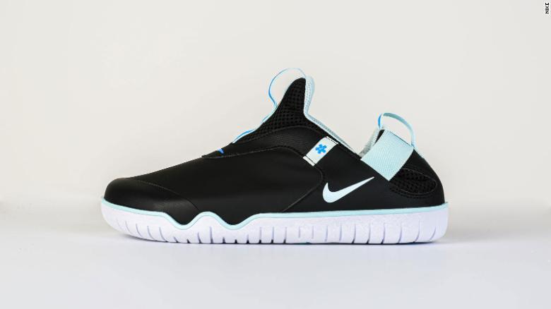 Os tênis do modelo Air Zoom Pulsefoi projetado especificamente para profissionais de saúde.