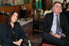 Presidente da Fundação Palmares e Regina Duarte conversaram. Segundo Camargo, apenas amenidades e os desafios que encontram na nova função de gestor