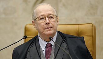 O ministro Celso de Mello, do Supremo Tribunal Federal (STF)