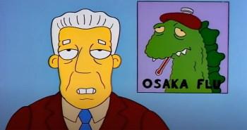 Episódio da mais longeva série da história da TV mostra surto da doença 'Osaka Flu' e, depois, moradores de Springfield são atacados por abelhas assassinas