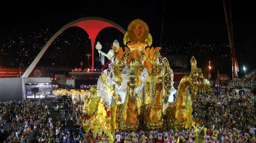 Desfile da Viradouro, campeã do Carnaval do Rio de Janeiro em 2020