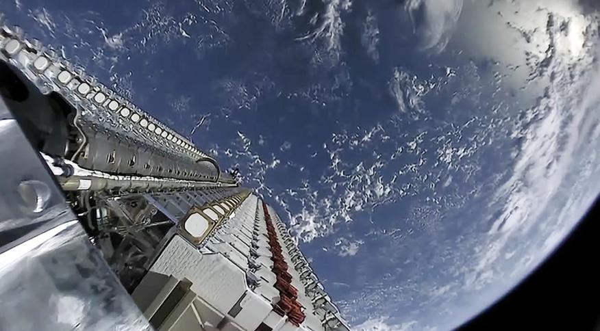 Satélite Starlink da empresa SpaceX
