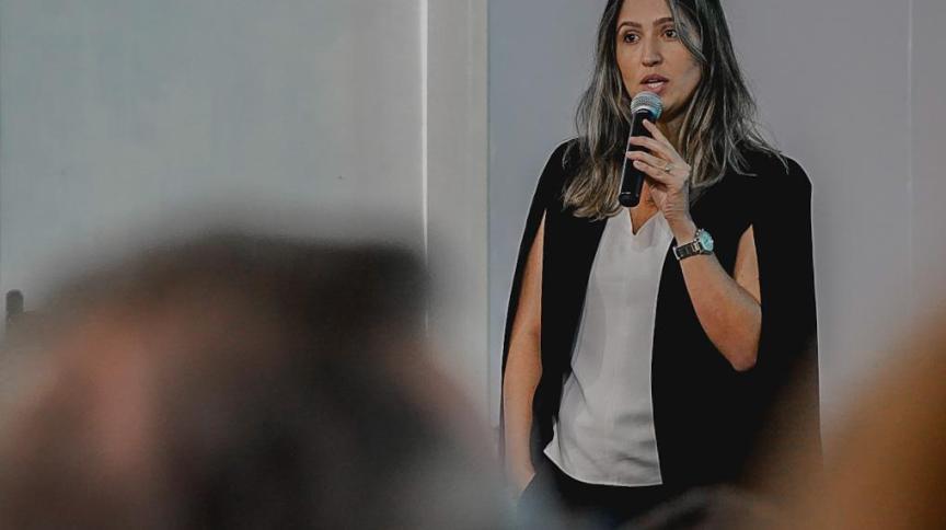 A nova presidente do Iphan, Larissa Rodrigues Peixoto Dutra