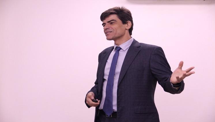 O delegado da Polícia Federal Alexandre Saraiva