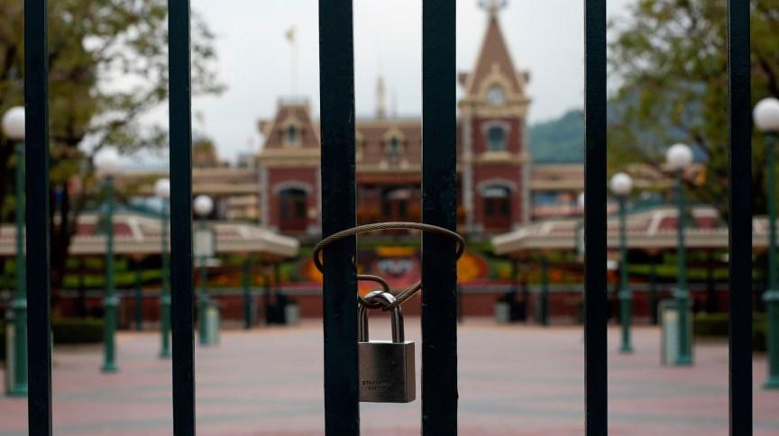 Parque temático da Disney em Hong Kong está fechado preventivamente desde janeiro