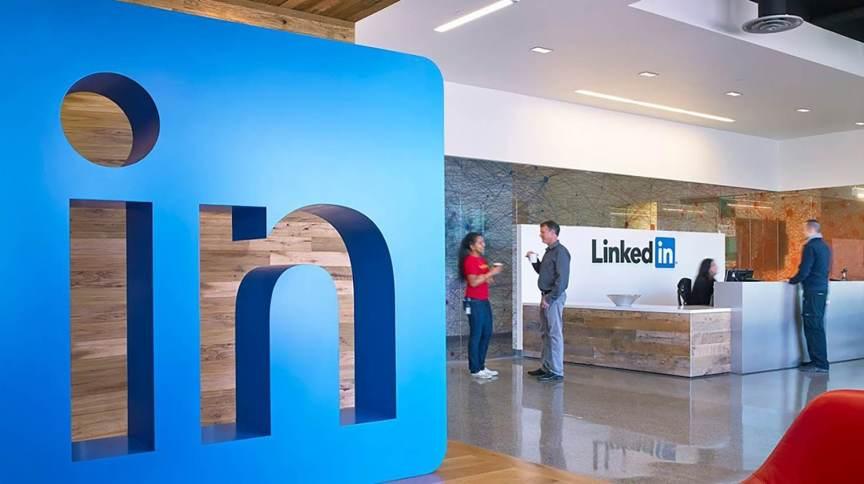 Sede do LinkedIn em Sunnydale, na Califórnia