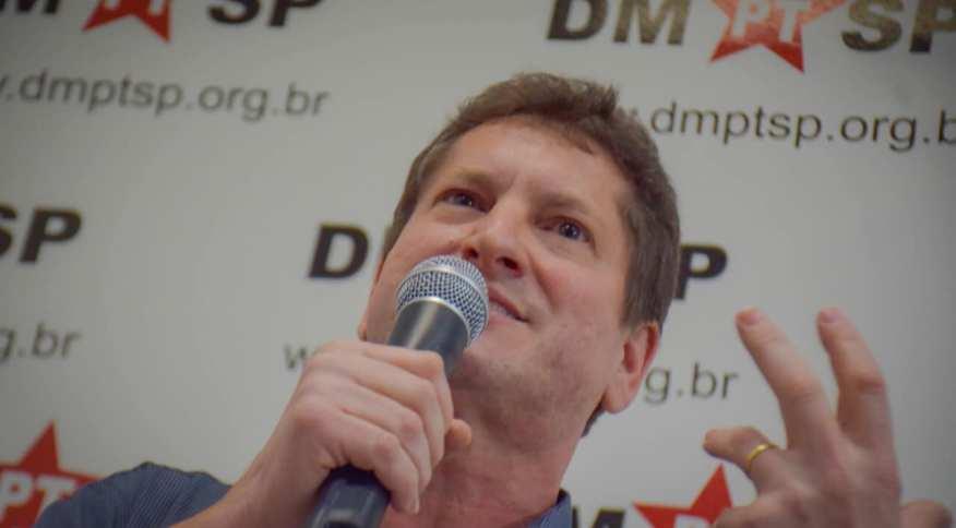 Jilmar Tatto foi escolhido pelo PT para concorrer à prefeitura de São Paulo